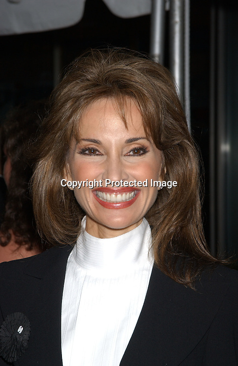 Susan Lucci in Chanel                                ..arriving at Radio City Music Hall for The Daytime Emmy Awards on May 16,2003 ..Photo by Robin Platzer, Twin Images