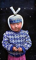 Manigango, Tibet 2005. Tibetan muslim boy, manigango, Kham, Tibet 2005