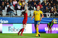 Gothenburg, Sweden - Thursday June 08, 2017: Rose Lavelle during an international friendly match between the women's national teams of Sweden (SWE) and the United States (USA) at Gamla Ullevi Stadium.