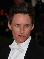 """NEW YORK CITY, NY, USA - MAY 05: Eddie Redmayne at the """"Charles James: Beyond Fashion"""" Costume Institute Gala held at the Metropolitan Museum of Art on May 5, 2014 in New York City, New York, United States. (Photo by Xavier Collin/Celebrity Monitor)"""