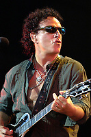 "SMG_Neal Schon_Michaele Salahi_kidnapped_091511_08.JPG<br /> <br /> MIAMI, FL - SEPTEMBER 15:  TMZ has learned ... far from being kidnapped ... Michaele Salahi has run off with Neal Schon, the lead guitarist for the band Journey.TMZ broke the story ... Tareq called authorities several times last night and today, claiming his wife has been abducted, because she left without taking her belongings.But now we've learned ... has been dating the rock icon, went to his show in Nashville last night and is currently with Schon in Memphis, where Journey is set to perform with Foreigner.Scoop Marketing, the rep for Journey, confirmed with TMZ that ""Nobody kidnapped her and they are in Memphis together.""   On September 15, 2011 in Miami, Florida.   (Photo By Storms Media Group)<br /> <br /> People:   Neal Schon<br /> <br /> Must call if interested<br /> Michael Storms<br /> Storms Media Group Inc.<br /> 305-632-3400 - Cell<br /> 305-513-5783 - Fax<br /> MikeStorm@aol.com"