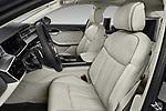 Front seat view of a 2018 Audi A8 Base 4 Door Sedan front seat car photos
