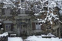 Europe/France/Auvergne/15/Cantal/Loubaresse: Ecomusée de la Margeride: Maison du paysan