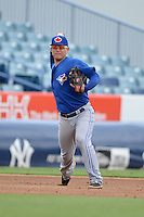 Toronto Blue Jays third baseman Justin Atkinson (45) during an Instructional League game against the New York Yankees on September 24, 2014 at George M. Steinbrenner Field in Tampa, Florida.  (Mike Janes/Four Seam Images)