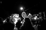 February 02, 2008. New Orleans, LA.. A night of parades in New Orleans for the 2nd Mardi Gras since Hurricane Katrina devastated the city.