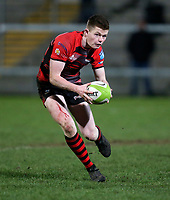 Friday 8th February 2019 | First Trust Ulster Senior Cup Final<br /> <br /> Shea O'Brien during the First Trust Ulster Senior Cup Final between Armagh and Ballymena at Kingspan Stadium, Ravenhill Park, Belfast, Northern Ireland. Photo by John Dickson / DICKSONDIGITAL