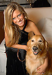 Stephanie Turtur with Jack at the 23rd Annual Celebrity Paws Gala benefitting Citizens for Animal Protection's Shelter and Pet Adoption Center at the Hilton Americas Hotel Saturday Nov. 21,2009. (Dave Rossman/For the Chronicle)