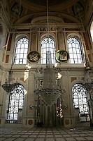 Buyuk Mecidiye Mosque in Ortakoy, Istanbul, Turkey