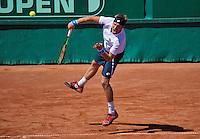Netherlands, The Hague, Juli 21, 2015, Tennis,  Sport1 Open, Norbert Gombos (SVK)<br /> Photo: Tennisimages/Henk Koster