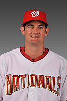 14 March 2008: ..Portrait of Larry Broadway, Washington Nationals Minor League player at Spring Training Camp 2008..Mandatory Photo Credit: Ed Wolfstein Photo