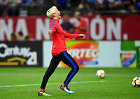 New Orleans, LA - Thursday October 19, 2017: Megan Rapinoe during an International friendly match between the Women's National teams of the United States (USA) and South Korea (KOR) at Mercedes Benz Superdome.