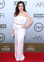 HOLLYWOOD, LOS ANGELES, CA, USA - JUNE 05: Cleo Pires at the 42nd AFI Life Achievement Award Honoring Jane Fonda held at the Dolby Theatre on June 5, 2014 in Hollywood, Los Angeles, California, United States. (Photo by Xavier Collin/Celebrity Monitor)