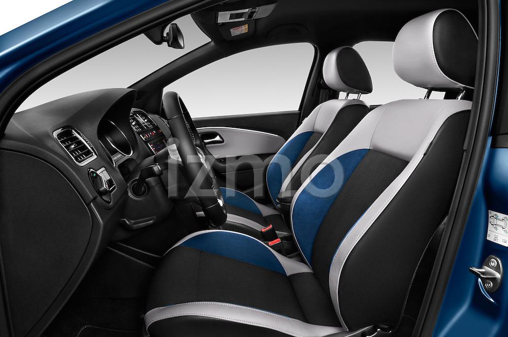 Front seat view of 2016 Volkswagen Polo Blue-GT 5 Door Hatchback Front Seat  car photos