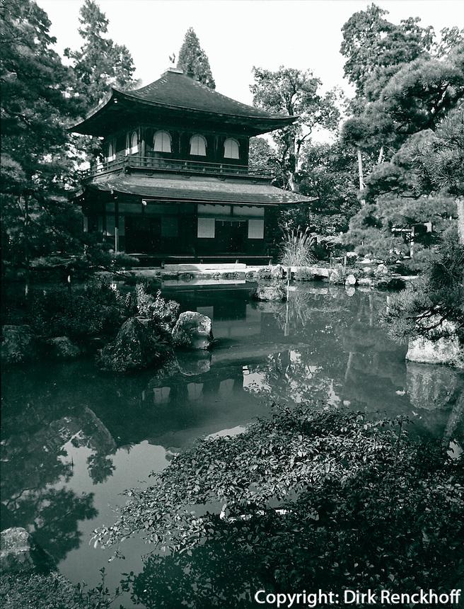 Kinkaku-Ji Goldener Pavillon) in Kyoto, Japan