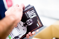 Programs being prepared at the stadium <br /> Re: Behind the Scenes Photographs at the Liberty Stadium ahead of and during the Premier League match between Swansea City and Bournemouth at the Liberty Stadium, Swansea, Wales, UK. Saturday 25 November 2017