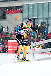 HOLMENKOLLEN, OSLO, NORWAY - March 16: Wolfgang Boesl of Germany (GER) during the cross country 15 km (2 x 7.5 km) competition at the FIS Nordic Combined World Cup on March 16, 2013 in Oslo, Norway. (Photo by Dirk Markgraf)