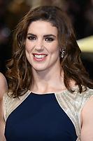 "Sarah Hunter<br /> arriving for the ""Captain Marvel"" European premiere at the Curzon Mayfair, London<br /> <br /> ©Ash Knotek  D3484  27/02/2019"