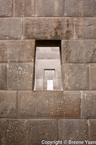 This quality level of construction is typical of royality and religious leaders.  No mortar is used in its construction.