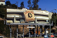 Billboard for Jackson Browne debut album on the Sunset Strip circa 1972