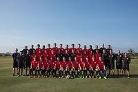 Bradenton, FL - Monday April 17, 2017: U.S. Soccer U-17 Men's National Team program photo.