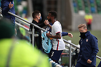 BELFAST, NORTHERN IRELAND - MARCH 28: Kellyn Acosta #23 of the United States during a game between Northern Ireland and USMNT at Windsor Park on March 28, 2021 in Belfast, Northern Ireland.