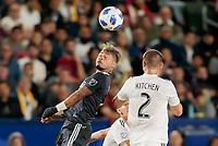 Carson, CA - Saturday April 21, 2018: Atlanta United FC defeated the Los Angeles Galaxy 2-0 in a Major League Soccer (MLS) regular season game at StubHub Center.