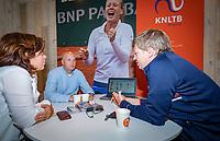 Den Bosch, Netherlands, 14 June, 2018, Tennis, Libema Open, In gesprek met KNLTB<br /> Photo: Henk Koster/tennisimages.com
