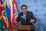Gustavo Meza-Cuadra, Permanent Representative of Peru to the United Nations and President of the Sec