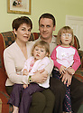 03/12/2002                   Copyright Pic : James Stewart.File Name : stewart-eve ramage 02.FORMER RAF NURSE EVE RAMAGE WHO, ALONGWITH HER CO-HABITEE IAN COGHILL, WERE FORCED TO LEAVE THEIR MOD ACCOMDATION BECAUSE THEY WERE NOT MARRIED, DESPITE LIVING AS A FAMILY WITH THEIR DAUGHTER ABI (WITH GLASSES), AND EXPECTING THEIR SECOND DAUGHTER PHOEBE....Payments to :-.James Stewart Photo Agency, 19 Carronlea Drive, Falkirk. FK2 8DN      Vat Reg No. 607 6932 25.Office     : +44 (0)1324 570906     .Mobile  : +44 (0)7721 416997.Fax         :  +44 (0)1324 570906.E-mail  :  jim@jspa.co.uk.If you require further information then contact Jim Stewart on any of the numbers above.........