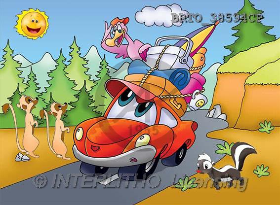 Alfredo, CUTE ANIMALS, puzzle, paintings(BRTO38594CP,#AC#) illustrations, pinturas, rompe cabeza