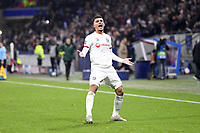 JOIE - 08 HOUSSEM AOUAR (OL)<br /> Lione 10-12-2019 <br /> Lyon vs Leipzig <br /> Champions League 2019/2020<br /> Photo Anthony Bibard / Panoramic / Insidefoto <br /> Italy Only