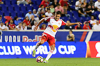 Harrison, NJ - Thursday Sept. 15, 2016: Aaron Long during a CONCACAF Champions League match between the New York Red Bulls and Alianza FC at Red Bull Arena.