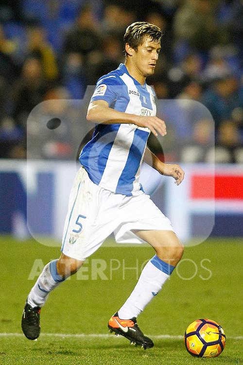 CD Leganes' Martin Mantovani during La Liga match. December 3,2016. (ALTERPHOTOS/Acero)