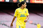 Mauricio Lemos of UD Las Palmas in action during the La Liga 2017-18 match between FC Barcelona and Las Palmas at Camp Nou on 01 October 2017 in Barcelona, Spain. (Photo by Vicens Gimenez / Power Sport Images