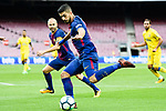 Luis Alberto Suarez Diaz of FC Barcelona in action during the La Liga 2017-18 match between FC Barcelona and Las Palmas at Camp Nou on 01 October 2017 in Barcelona, Spain. (Photo by Vicens Gimenez / Power Sport Images