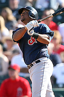 March 10,2009: Infielder Andy Marte (15) of the Cleveland Indians at Tempe Diablo Stadium in Tempe, AZ.  Photo by: Chris Proctor/Four Seam Images