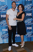Ace Young + Diana Degarmo @ the American Idol Farewell Season finale held @ the Dolby Theatre.<br /> April 7, 2016