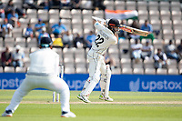 Kane Williamson, New Zealand punches off the bak foot through the covers for four runs during India vs New Zealand, ICC World Test Championship Final Cricket at The Hampshire Bowl on 23rd June 2021