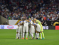 Houston, TX - Tuesday June 21, 2016: USA prior to a Copa America Centenario semifinal match between United States (USA) and Argentina (ARG) at NRG Stadium.