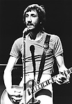 The Who 1973 Pete Townshend.© Chris Walter.