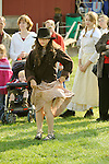 Heritage Days Festival. Union County. Girl doing jig.