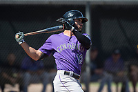 Colorado Rockies outfielder Willie Abreu (13) during a Minor League Spring Training game against the Los Angeles Angels at Tempe Diablo Stadium Complex on March 18, 2018 in Tempe, Arizona. (Zachary Lucy/Four Seam Images)