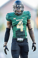 Baylor cornerback Xavien Howard (4) during first half of NCAA inaugural Football game at newly constructed McLean Stadium, Sunday, August 31, 2014 in Waco, Tex. Baylor leads SMU 31-0 in the first half. (Mo Khursheed/TFV Media via AP Images)