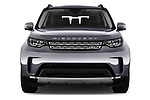 Car photography straight front view of a 2018 Land Rover Discovery HSE 5 Door SUV