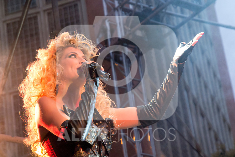 28.06.2012. Concert of the Gay Festival 2012 in the Plaza de Callao in Madrid. In the image Roser (Alterphotos/Marta Gonzalez)