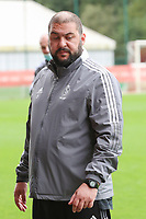 Assistant coach Erdem Ucar of Standard pictured before a female soccer game between Standard Femina de Liege and White Star Woluwe on the fifth matchday of the 2021 - 2022 season of Belgian Scooore Womens Super League , saturday 2 nd of October 2021  in Angleur , Belgium . PHOTO SPORTPIX   SEVIL OKTEM