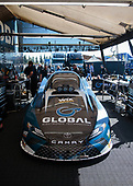 Shawn Langdon, Global Electronic Technology, funny car, Camry, pits