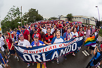 Orlando, FL - Friday Oct. 06, 2017: Fan Photo during a 2018 FIFA World Cup Qualifier between the men's national teams of the United States (USA) and Panama (PAN) at Orlando City Stadium.