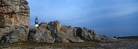 Europe/France/Bretagne/29/Finistère/Ile d'Ouessant: La côte sauvage et le phare de Créac'h