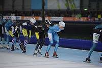 SCHAATSEN: GRONINGEN: 01-01-2019, Sportcentrum Kardinge, NK Marathon, ©foto Martin de Jong